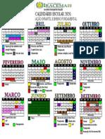 Calendário Letivo 2020 alterado OUT