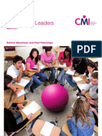 CMI's Tomorrows Leaders Research
