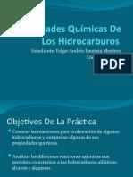 Propiedades Químicas De Los Hidrocarburos EXPO