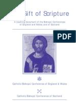 Bishops' Conferences England - Gift of Scripture