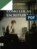 Como Ler as Escrituras - Charles Haddon Spurgeon
