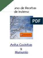 Recetas de Invierno Anitacocinitas y mumumío