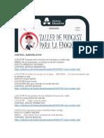 Libretos y Audios Ejercicios Podcasts