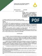 Jorge Vianna comenta PL que altera a Lei do TPD, utilizado na SES-DF, aprovado em primeiro turno na CLDF