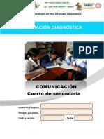 Evaluación diagnóstica 4°-Se comunica
