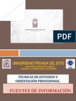 Presentación - Unidad IV - Fuentes de Información