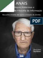 Anais do Colóquio em filosofia da informação