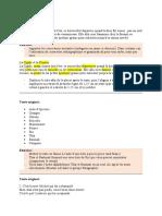 1-Textes à corriger et mettre en forme