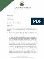 Glen Stilo Letter March 23, 2021
