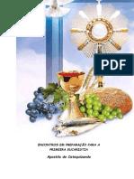 1 PRIMEIRA EUCARISTIA - CATEQUISTA