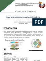 SISTEMAS DE INFORMACIÓN GEOGRÁFICA (SIG)