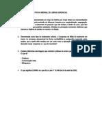 PROVA MENSAL DE LIBRAS GERENCIAL