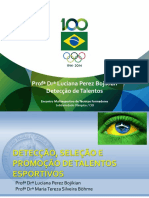 Palestra Detecção Seleção e Promoção de Talentos - Arquivo 1