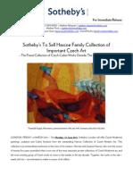 Hascoe Family Collection - Important Czech Art PR June 2011