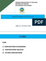 Présentation DG Douanes - LF 2021-10-01-2021