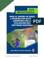 Guia Metodologica Para El Diseño de Riego a Presion