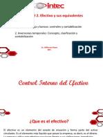 Efectivo e Inversiones Temporales ppt