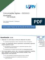DCO1013 Equalizao e Equalizador TDL Forado a Zero