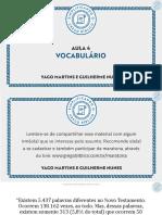 Aula 4 - Vocabulário.pptx