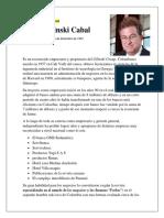 Jaime Gilinski Cabal_paula aguirre_trabajo