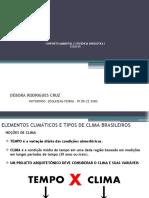 AULA 03.2 - ELEMENTOS CLIMÁTICOS E TIPOS DE CLIMA BRASILEIROS (1)