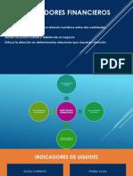 INDICADORES FINANCIEROS  (1)