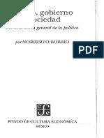 Bobbio, La gran dicotomía público-privado