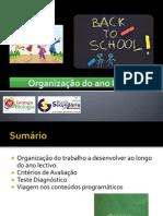 BG 1 - Organização do ano lectivo