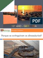 G2 - Situação Problema 1 - Porque se extinguiram os dinossáurios