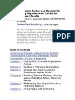 Stephen M. Dent, James H. Krefft - Powerhouse Partners_ a Blueprint for Building Organizational Culture for Breakaway Results-Nicholas Brealey Boston (2004)