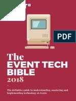 Event Tech Bible 2018