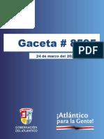 Decreto Nº 000119 DEL 2021 (23 de marzo del 2021) sobre medidas en materia de orden público para garantizar el aislamiento selectivo