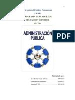 Administración publica.