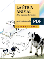 Angélica Velasco Sesma - La ética animal. Una cuestión feminista