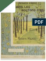 Holmes, Paysages d'amour