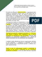 cap. 1 análise molar caso PATRICIA