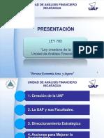 Ley 793 UAF