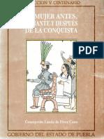 Landa de Pérez Cano, C. (1992). La mujer antes, durante y después de la conquista