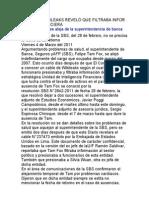 Felipe Tam Fox se aleja de la Superintendencia de Banca