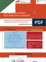 CTP - Tema 6 - Conceptos, Recomendaciones y Seguimiento a los Planes de Ordenamiento Territorial