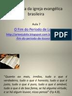 Silo.tips a Hinodia Da Igreja Evangelica Brasileira