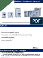 INVERSORES DE FREQUÊNCIA E ACIONAMENTOS ELÉTRICOS