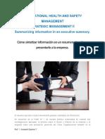 Guía N° 3  Cómo elaborar un Informe ejecutivo para la empresa