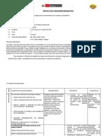 PROYECTO DE EVALUACION  DIAGNOSTICA 5T Y 6TO