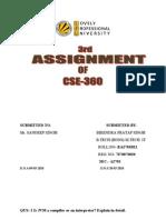 21-CSE-360-3rd