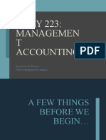 ACCY 223 2021 T1 W1.L1 Welcome & Introduction to Management Accounting STUDENT(1)