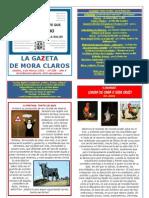 La Gazeta de Mora Claros nº 109 - 04032011