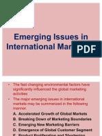 Emerging Issues in International Marketing-17.02