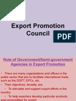 Export Promotion Council- 7.1