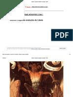 Satanás e Algumas Anotações Da Cabala – Ebrael